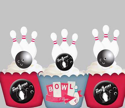 Bowling Toppers