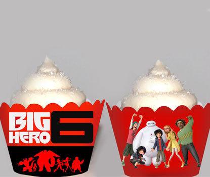 Big Hero 6 Baymax Movie Party Wraps