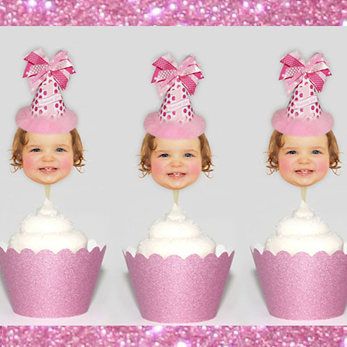 Babys 1st Birthday Toppers