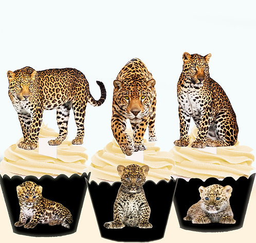 Leopard Edible Toppers