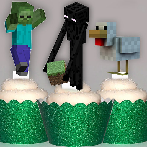 Minecraft Enderman Toppers