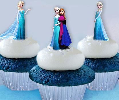 42 Mini Frozen Toppers