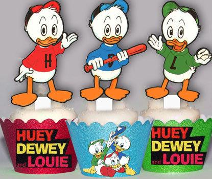 Hewy Dewy Lewie Duck Toppers