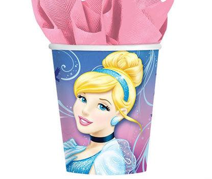 Cinderella Paper Cups