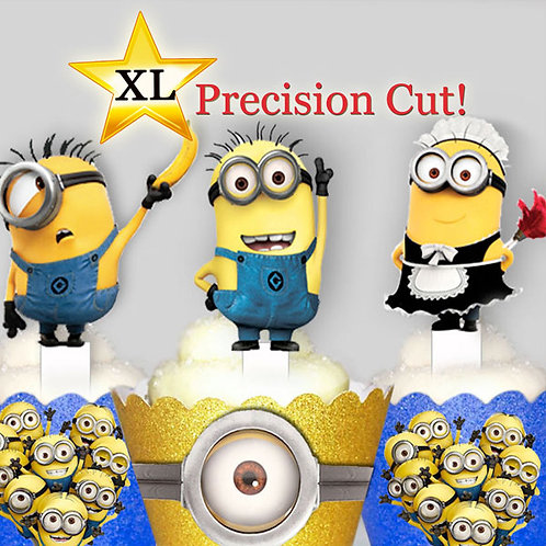 Despicable Me Minions Toppers