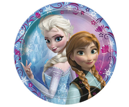 Frozen Party Plate