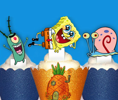 Spongebob Squarepants Toppers