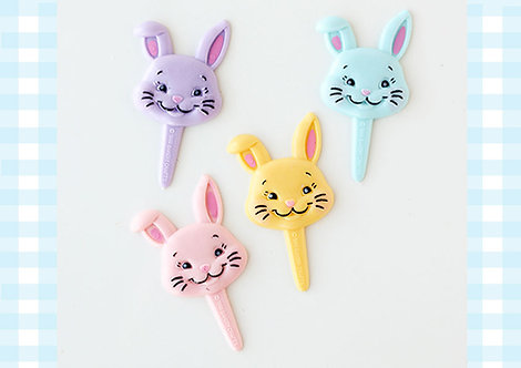 Vintage Bunny Pastel Toppers