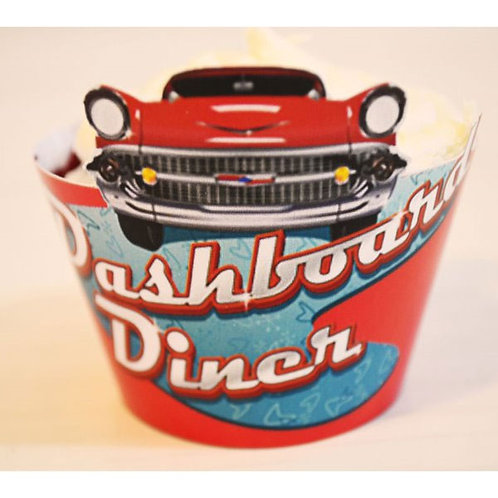 Dashboard Diner Wraps - Set of 15