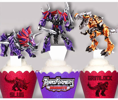 Transformers Dinobot Toppers