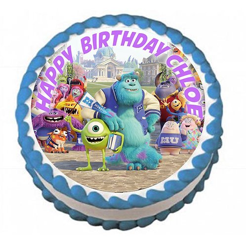 Monsters Inc Icing Sheet