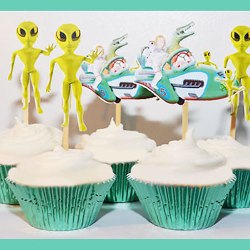 Space Alien Toppers