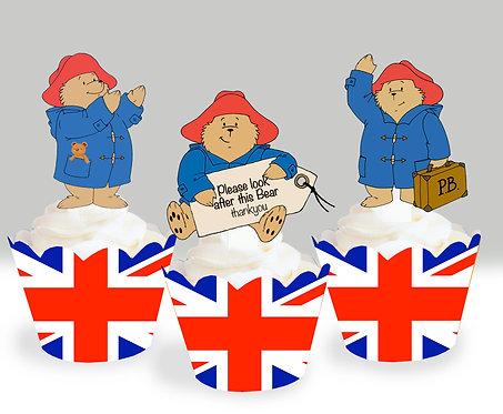 Paddington Bear Party Toppers