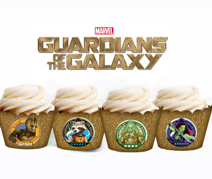 Guardians of the Galaxy Cupcake Wrappers