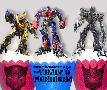 Transformers Toppers