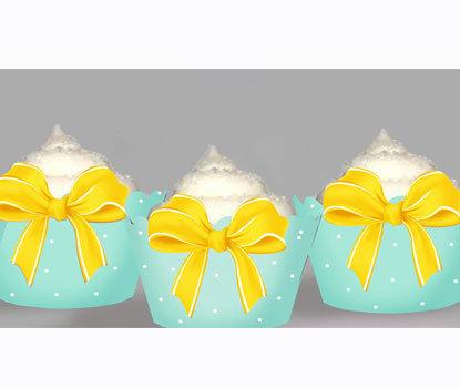 Yellow Bow Wraps