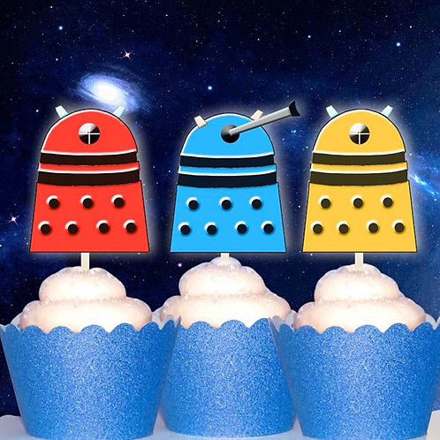 Dalek Dr Who Toppers