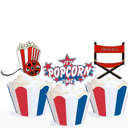 Movie Night Toppers