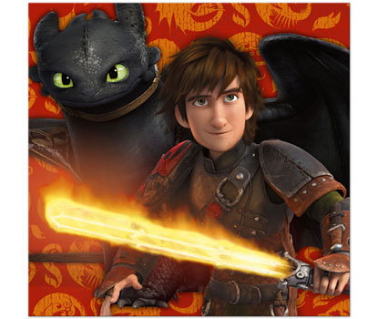 Train Your Dragon Party Napkins