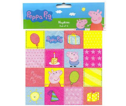 Peppa Pig Party Napkins