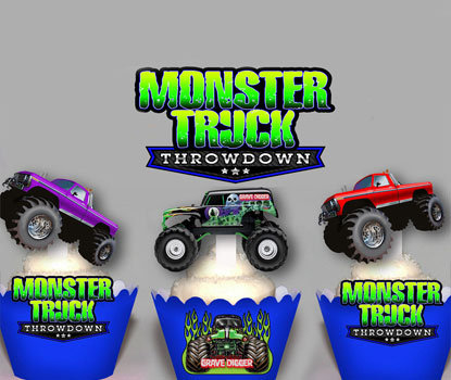 Monster Truck Toppers
