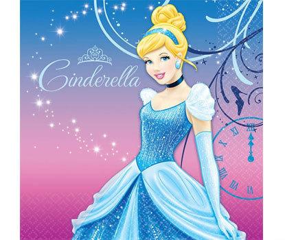 Cinderella Large Napkins