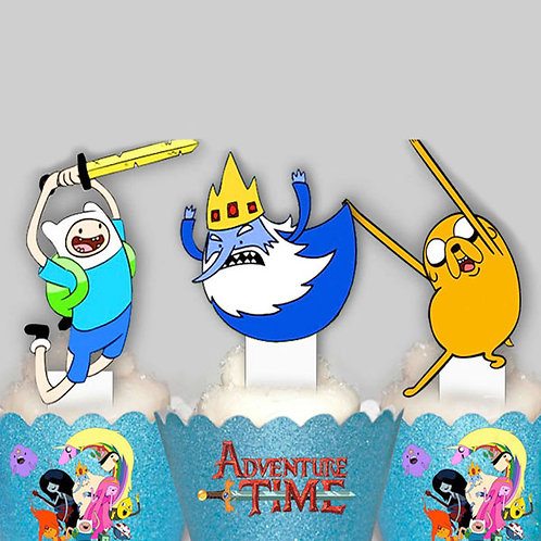 Adventure Time Toppers