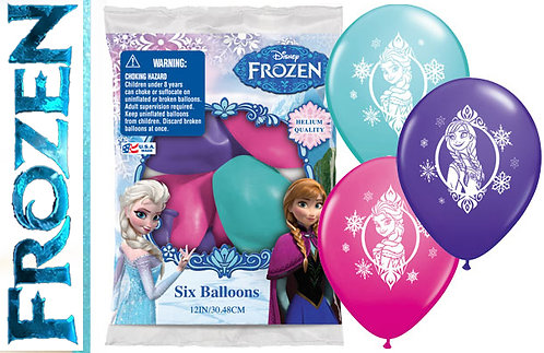 Frozen mixed party balloons