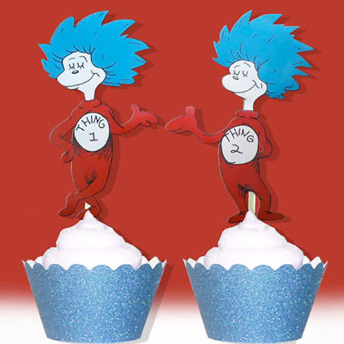 Thing 1 & 2 Toppers