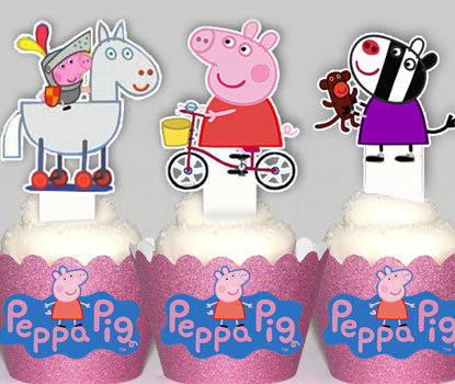 Peppa Pig 2 Toppers