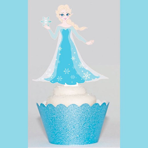 Frozen Princess Toppers