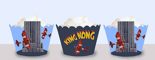 King Kong Cupcake Wrappers