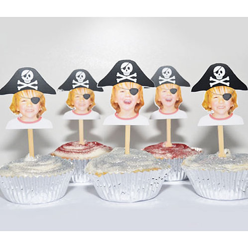 Pirate Party Toppers