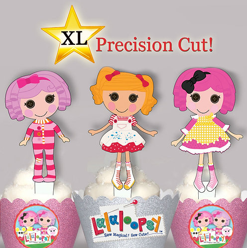 Lalaloopsy Toppers