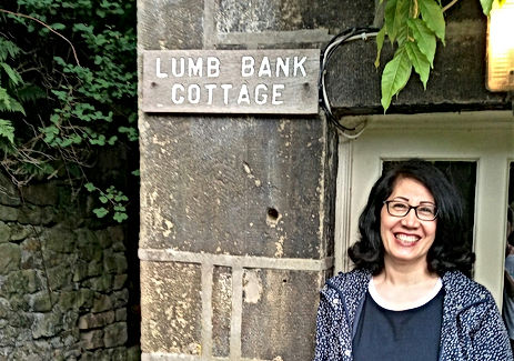 At Ted Hughes' house in West Yorkshire – Arvon Foundation