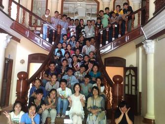 田山日本語学校と孤児院訪問(2017年7月7日、10日)