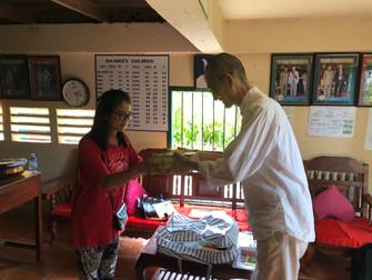 Krousa Thmey 孤児院訪問2カ所(タクマオ・プノンペン(2019年9月26,27日)