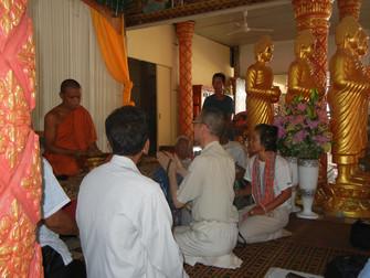 ブラサット・ネァング・クマオ寺訪問
