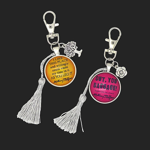 Quote & Insult Bag Charms