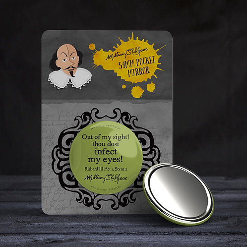 Quote/Insult Pocket Mirrors