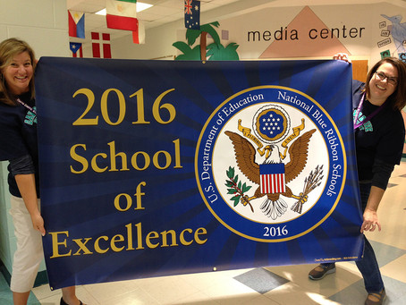 Davis Drive Elementary: 2016 School of Excellence