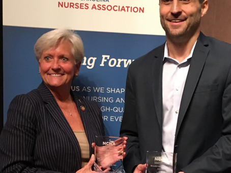 North Carolina Nurses Association Award