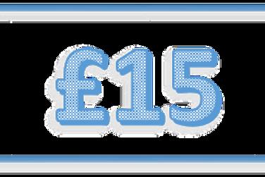 £15.00 Entry Fee (Three Pieces)
