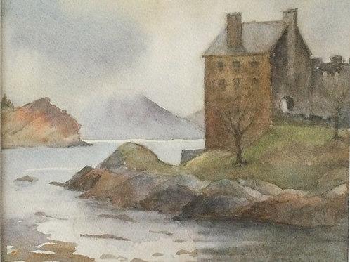 Eilean Donan Castle by Margaret Dinkeldein