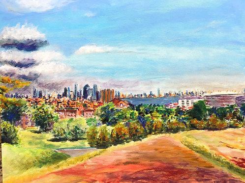 Greenwich Park View by Chris Ashworth