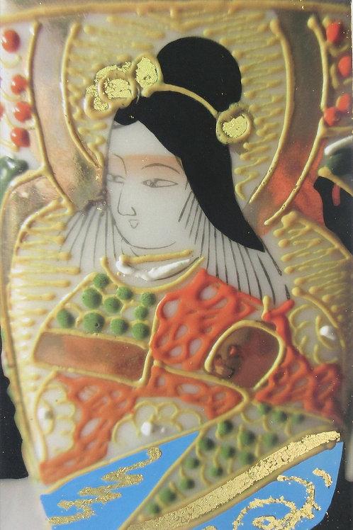 Bodhisattva with Golf Flower in Hair by Margaret Higginson