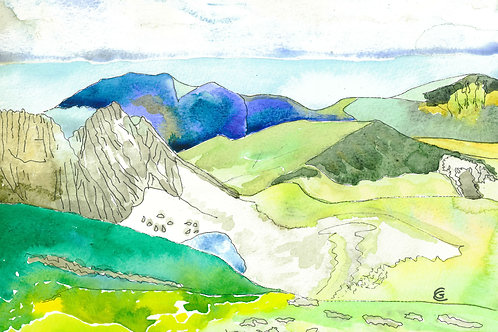 Summit View by Gunda Cannon