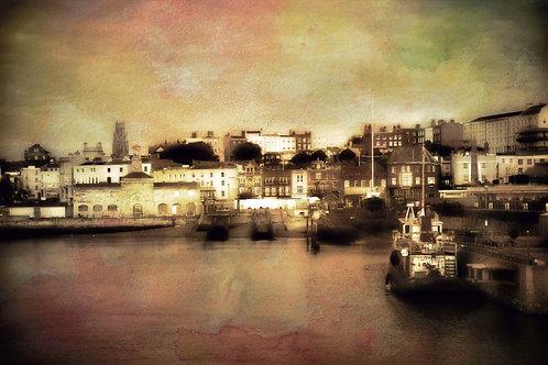 Ramsgate Harbour by John Watts