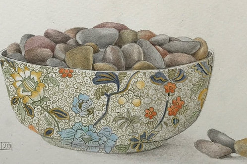 Bowl of Pebbles by Lindsey Malin