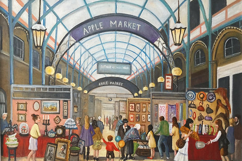 Apple Market Covent Garden by Carol Barry
